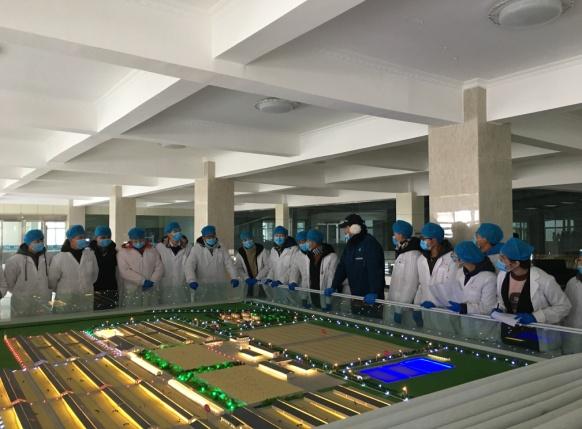 畜牧系组织学生去甘肃农垦天牧乳业有限公司参观实习